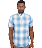 Original Penguin - Short Sleeve Gradient Plaid Linen