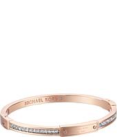 Michael Kors - Logo Plaque Hinge Bracelet