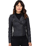 Levi's® - Faux Leather Quilted Asymmetrical Motorcycle Jacket
