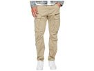 Rovic Zip 3D Tapered Fit Pants in Premium Micro Stretch Twill Dune