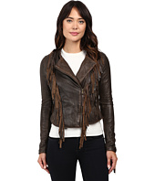 Levi's® - Asymmetrical Fringe Leather Jacket