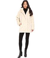 Calvin Klein - Faux Fur with Hidden Clip Closure