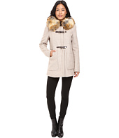 Calvin Klein - Fur Trimmed Toggle w/ Oversized Pockets