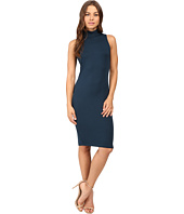 Michael Stars - Sleeveless Mock Neck Midi Dress