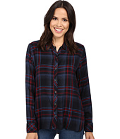 Michael Stars - Plaid Hi-Low Boyfriend Shirt