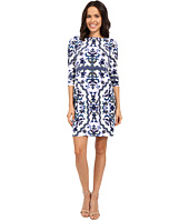 Vince Camuto - Printed Crepe Long Sleeve Tee Body