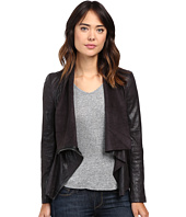 Blank NYC - Faux Suede Drape Jacket in Hot Line Bling