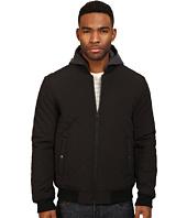 Levi's® - Diamond Quilted Rib Knit Bomber w/ Black Sweat Fleece Hood