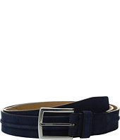 Cole Haan - 35mm Suede Belt with Filled Center Detail
