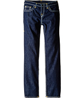 True Religion Kids - Geno Contrast Super T Jeans in Rinse/Gold (Big Kids)