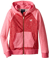 True Religion Kids - Mineral Wash Fleece Hoodie (Little Kids/Big Kids)