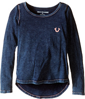 True Religion Kids - TR Buddha Long Sleeve Tee Shirt (Toddler/Little Kids)