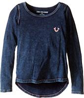True Religion Kids - TR Buddha Long Sleeve Tee Shirt (Toddler/Little Kids)