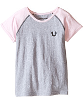 True Religion Kids - Branded Logo Tee (Toddler/Little Kids)
