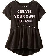 True Religion Kids - Studded Future Tee Shirt (Toddler/Little Kids)