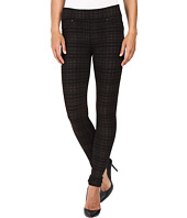 Liverpool - Quinn Pull-On Leggings in Metallic Plaid