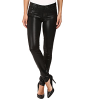 Paige - Verdugo Ultra Skinny in Black Fog Luxe Coating