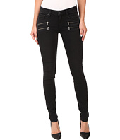 Paige - Edgemont Ultra Skinny in Black Fog
