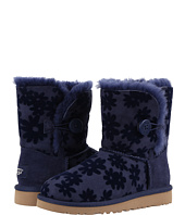 UGG Kids - Bailey Button Flowers (Little Kid/Big Kid)
