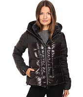DUVETICA - Angusina Inset Quilted Down Hooded Jacket