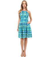 Calvin Klein - Halter Neck Fit & Flare Dress CD6M2B6D