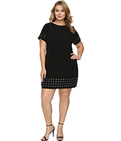 Calvin Klein Plus - Plus Size T-Shirt Dress w/ Grommets