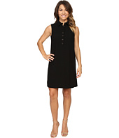 Tahari by ASL Petite - Petite Crepe Sleeveless Shirtdress