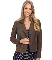 Lucky Brand - Suede Moto Jacket