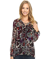 Lucky Brand - Floral Peasant Top