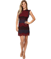 KUT from the Kloth - Ruffle Sleeveless Shift Dress