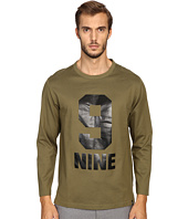 Marc Jacobs - Slim Fit Solid Jersey Long Sleeve Tee