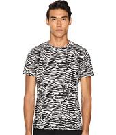Just Cavalli - Slim Fit Zebra Vibe Printed T-Shirt