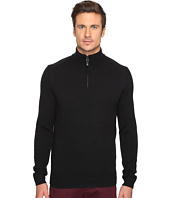 Ben Sherman - Long Sleeve Lambswool 1/2 Zip Knit