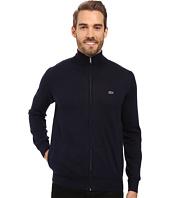 Lacoste - Segment 1 Full Zip Jersey Sweater