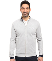 Lacoste - Long Sleeve Semi-Fancy Pique Full Zip