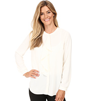 Vince Camuto - Long Sleeve Ruffle Front Blouse