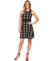 Vince Camuto - Sleeveless Harbour Plaid Dress