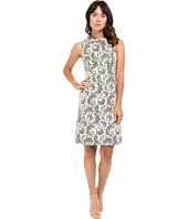 Tahari by ASL - Envelope Neck Sleeveless Sheath Dress