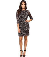 Tahari by ASL - Tiered Body Sparkle Lace Dress