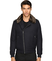 The Kooples - Technical Taffetas Biker Jacket