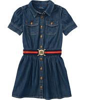 Polo Ralph Lauren Kids - Denim Shirtdress (Toddler)