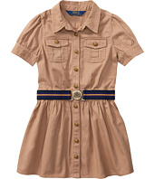Polo Ralph Lauren Kids - Tissue Chino Shirtdress (Little Kids)