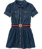 Polo Ralph Lauren Kids - Denim Shirtdress (Little Kids)