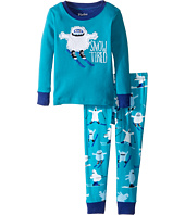 Hatley Kids - Ski Monsters Snow Tired Pajama Set (Toddler/Little Kids/Big Kids)