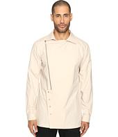 D.GNAK - Oblique Zip-Up Shirt
