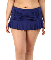 Bleu Rod Beattie - Plus Size Jet Set Go Retro Skirted Hipster Bottoms