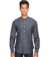 Todd Snyder - Chambray Band Collar w/ Pocket