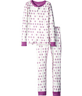 Hatley Kids - Metallic Snowflakes Henley Pajama Set (Toddler/Little Kids/Big Kids)