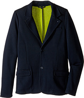 Armani Junior - Blazer with Lime Detail (Toddler/Little Kids/Big Kids)