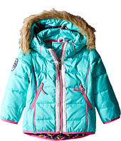 Hatley Kids - Nordic Petals Down Filled Ski Jacket (Toddler/Little Kids/Big Kids)